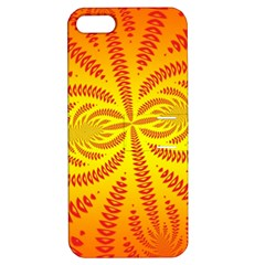 Background Brush Particles Wave Apple Iphone 5 Hardshell Case With Stand