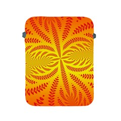Background Brush Particles Wave Apple iPad 2/3/4 Protective Soft Cases