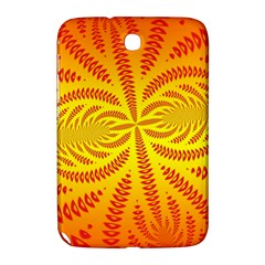 Background Brush Particles Wave Samsung Galaxy Note 8 0 N5100 Hardshell Case