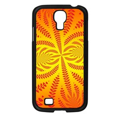 Background Brush Particles Wave Samsung Galaxy S4 I9500/ I9505 Case (black)