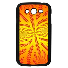 Background Brush Particles Wave Samsung Galaxy Grand Duos I9082 Case (black)