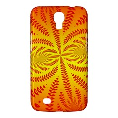Background Brush Particles Wave Samsung Galaxy Mega 6.3  I9200 Hardshell Case