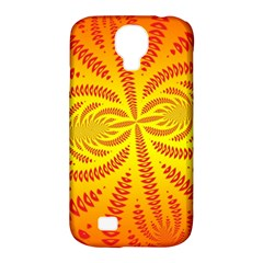 Background Brush Particles Wave Samsung Galaxy S4 Classic Hardshell Case (pc+silicone)