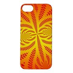 Background Brush Particles Wave Apple iPhone 5S/ SE Hardshell Case
