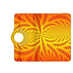 Background Brush Particles Wave Kindle Fire Hdx 8 9  Flip 360 Case