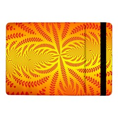 Background Brush Particles Wave Samsung Galaxy Tab Pro 10.1  Flip Case