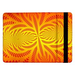 Background Brush Particles Wave Samsung Galaxy Tab Pro 12 2  Flip Case