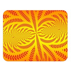 Background Brush Particles Wave Double Sided Flano Blanket (large)