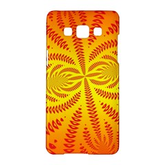 Background Brush Particles Wave Samsung Galaxy A5 Hardshell Case