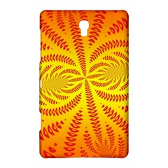 Background Brush Particles Wave Samsung Galaxy Tab S (8 4 ) Hardshell Case