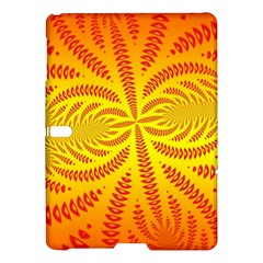 Background Brush Particles Wave Samsung Galaxy Tab S (10 5 ) Hardshell Case