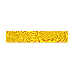 Background Brush Particles Wave Flano Scarf (mini)