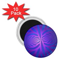 Background Brush Particles Wave 1.75  Magnets (10 pack)
