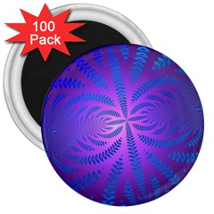 Background Brush Particles Wave 3  Magnets (100 Pack)