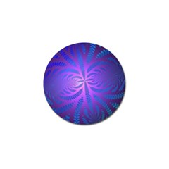 Background Brush Particles Wave Golf Ball Marker