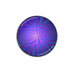 Background Brush Particles Wave Hat Clip Ball Marker (4 Pack)
