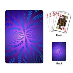 Background Brush Particles Wave Playing Card