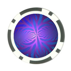 Background Brush Particles Wave Poker Chip Card Guard