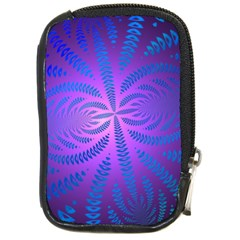 Background Brush Particles Wave Compact Camera Cases