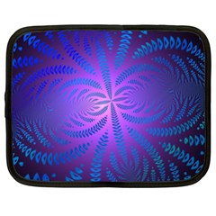 Background Brush Particles Wave Netbook Case (XXL)