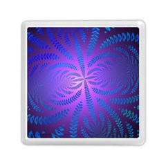 Background Brush Particles Wave Memory Card Reader (square)