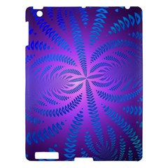 Background Brush Particles Wave Apple Ipad 3/4 Hardshell Case
