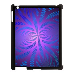 Background Brush Particles Wave Apple Ipad 3/4 Case (black)