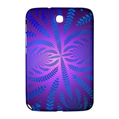 Background Brush Particles Wave Samsung Galaxy Note 8.0 N5100 Hardshell Case