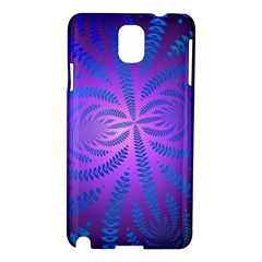 Background Brush Particles Wave Samsung Galaxy Note 3 N9005 Hardshell Case