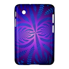 Background Brush Particles Wave Samsung Galaxy Tab 2 (7 ) P3100 Hardshell Case