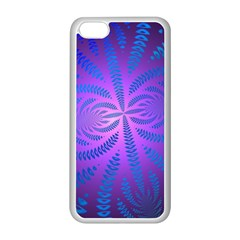 Background Brush Particles Wave Apple Iphone 5c Seamless Case (white)