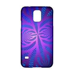 Background Brush Particles Wave Samsung Galaxy S5 Hardshell Case