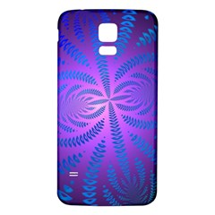 Background Brush Particles Wave Samsung Galaxy S5 Back Case (white)