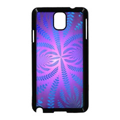 Background Brush Particles Wave Samsung Galaxy Note 3 Neo Hardshell Case (black)