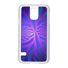 Background Brush Particles Wave Samsung Galaxy S5 Case (white)