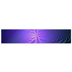 Background Brush Particles Wave Flano Scarf (small)