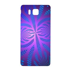 Background Brush Particles Wave Samsung Galaxy Alpha Hardshell Back Case