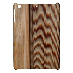 Wood Grain Texture Brown Apple Ipad Mini Hardshell Case