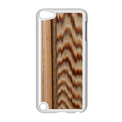 Wood Grain Texture Brown Apple Ipod Touch 5 Case (white)