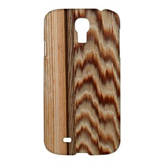 Wood Grain Texture Brown Samsung Galaxy S4 I9500/i9505 Hardshell Case