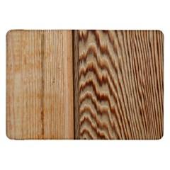 Wood Grain Texture Brown Samsung Galaxy Tab 8 9  P7300 Flip Case