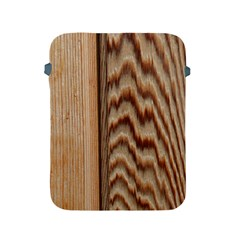 Wood Grain Texture Brown Apple Ipad 2/3/4 Protective Soft Cases