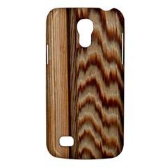 Wood Grain Texture Brown Galaxy S4 Mini