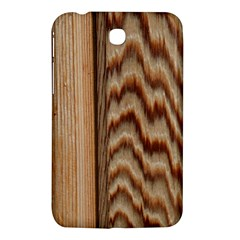 Wood Grain Texture Brown Samsung Galaxy Tab 3 (7 ) P3200 Hardshell Case