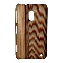 Wood Grain Texture Brown Nokia Lumia 620