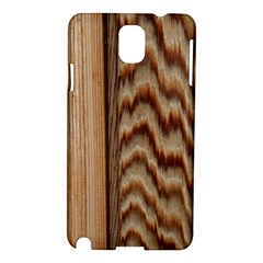 Wood Grain Texture Brown Samsung Galaxy Note 3 N9005 Hardshell Case