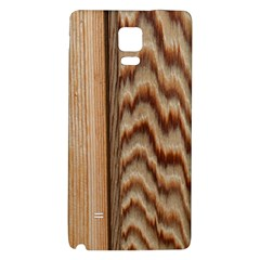 Wood Grain Texture Brown Galaxy Note 4 Back Case