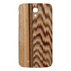 Wood Grain Texture Brown Samsung Galaxy Mega I9200 Hardshell Back Case