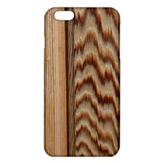 Wood Grain Texture Brown iPhone 6 Plus/6S Plus TPU Case