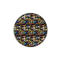 Abstract Pattern Design Artwork Hat Clip Ball Marker (10 Pack)